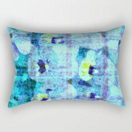 flower kirsche kaleidoskope Rectangular Pillow