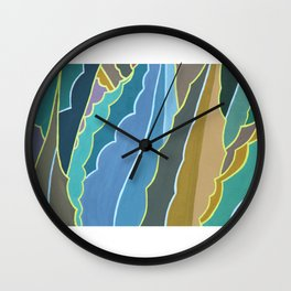 Maguey en Ciudad Universitaria Wall Clock