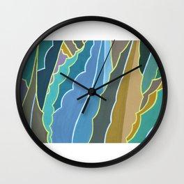 Maguey en Ciudad Universitaria Wall Clock
