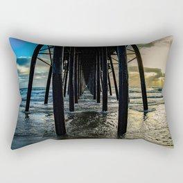 Sky Painting (Oceanside Pier) ~ 10-2015 Rectangular Pillow
