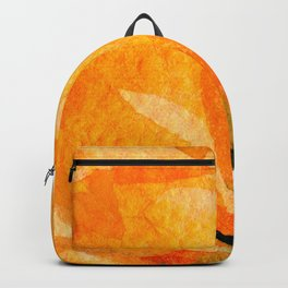 Orange Rose Backpack