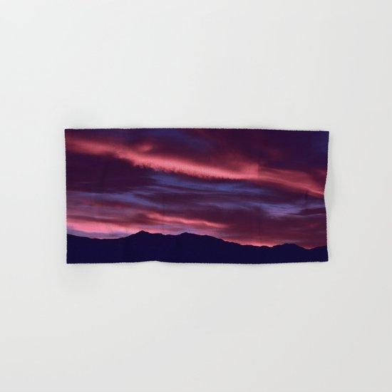 SW Serenity Rose Sunrise Hand & Bath Towel