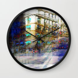 The task involves revolving masks around in place. Wall Clock