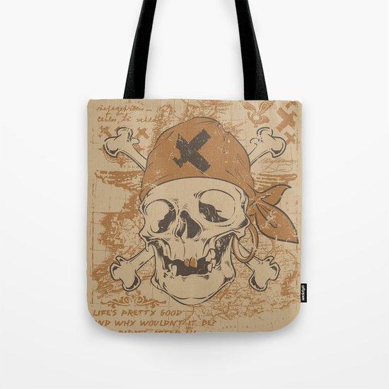 North Sea pirates Tote Bag