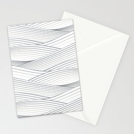 Smooth Japanese Wave Stationery Cards