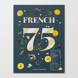 French 75 Canvas Print