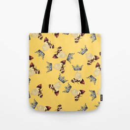 Busy Queen Bees Tote Bag