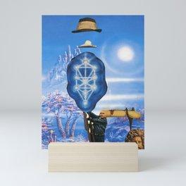 El Enigma sin fin del Lonesome Cowboy Mini Art Print