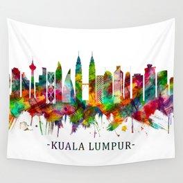 Kuala Lumpur Malaysia Skyline Wall Tapestry