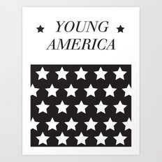 Young America. Art Print