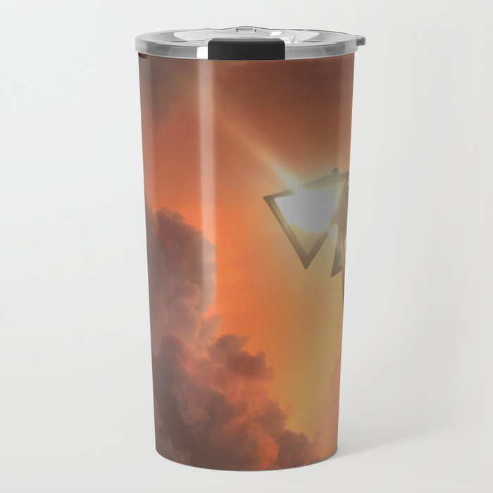 San Francisco Sky at Dusk Travel Mug
