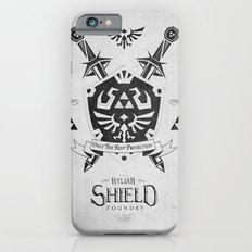 Legend of Zelda Hylian Shield Foundry logo Iconic Geek Line Artly iPhone 6 Slim Case