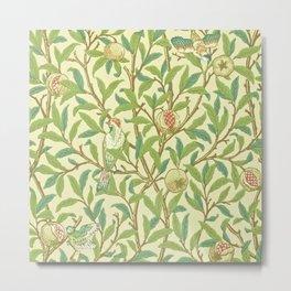 "William Morris ""Bird & Pomegranate"" 1. Metal Print"