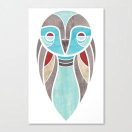 owl colour Canvas Print