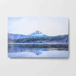 Japan watercolor painting #2 Metal Print