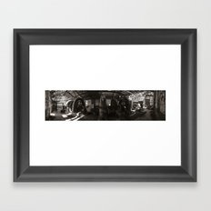 Power Plant Framed Art Print