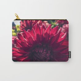 Dahlia In the Garden / 31 Carry-All Pouch
