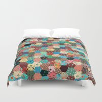 quilt Duvet Covers featuring Quilt by back soon!
