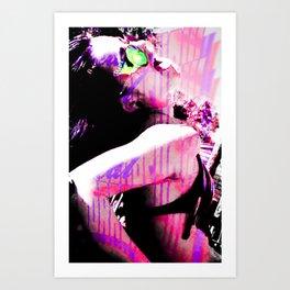 Shimmy Slide Art Print