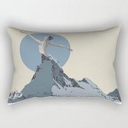 mountains 2 Rectangular Pillow