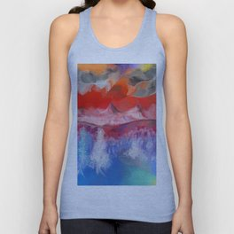 Dark Clouds Arise Unisex Tank Top