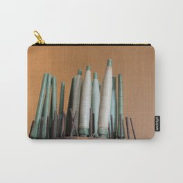 Vintage industrial threads Carry-All Pouch