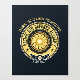 Pacific Rim Defense Academy Canvas Print