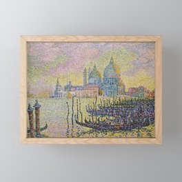Grand Canal (Venice) - Paul Signac Framed Mini Art Print