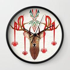 deer rope  Wall Clock