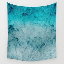 Deep Sea Blue Wall Tapestry