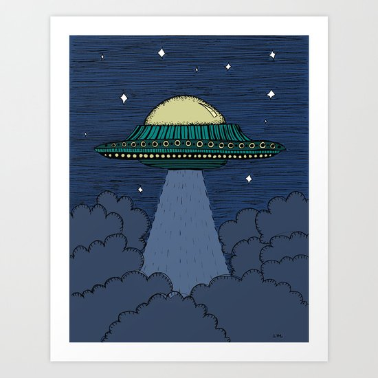 Flying Saucer by lauramax
