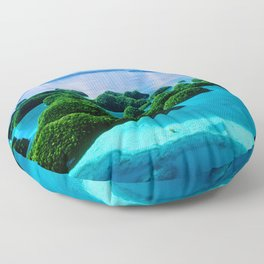 Where Heaven Touched Earth: Palau South Pacific Islands Floor Pillow