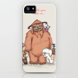 Should You Need Us... iPhone Case