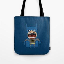 Screaming Batdude Tote Bag