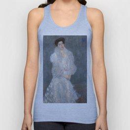 Gustav Klimt - Portrait of Hermine Gallia Unisex Tank Top