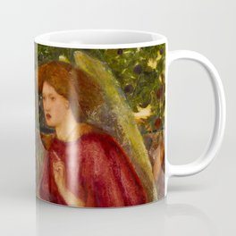 """Edward Burne-Jones """"The Annunciation"""" Coffee Mug"""