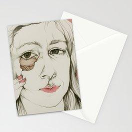 Sueños rotos Stationery Cards