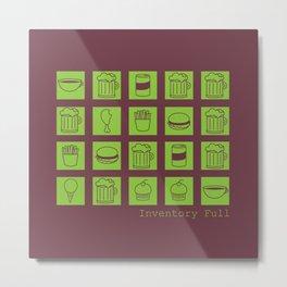 Inventory Full Metal Print