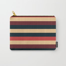Solid Striped Carry-All Pouch