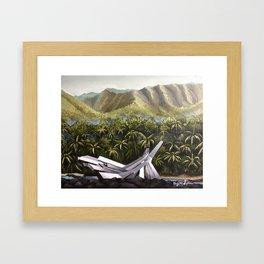 Catching Fire - Arena Cornucopia | Painting  Framed Art Print