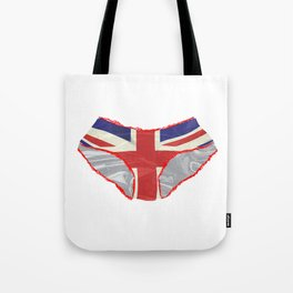 Union Jack Knickers Tote Bag