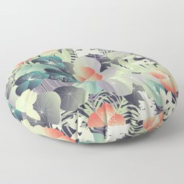 tropical mix Floor Pillow