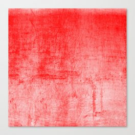 Distressed Coral Textured Canvas Canvas Print