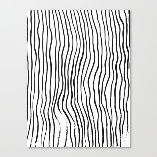 minimal movement - invert Canvas Print