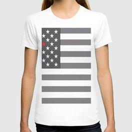 Flag U.S. American United States Retro T-shirt