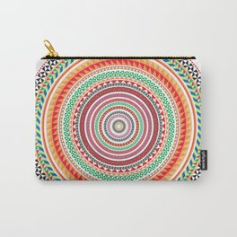 spring mandala (white background) Carry-All Pouch