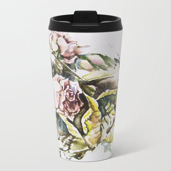 Rosal pastels Metal Travel Mug