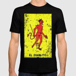 El Diablito Mexican Loteria Card T-shirt