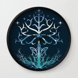 Lightful Tree Wall Clock