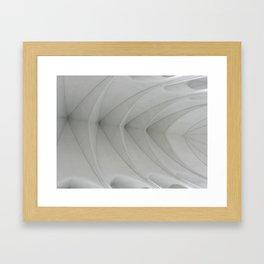 Vaulted Framed Art Print
